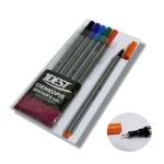 Popisovač liner IDEST 6 barev 0,4 mm