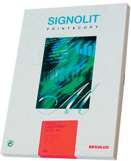 Fólie Signolit SC 46, A4/100 listů bílá lesklá