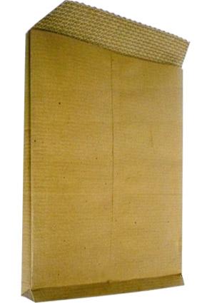 Obálka B4 přírodní křížové dno s textilní výstuží
