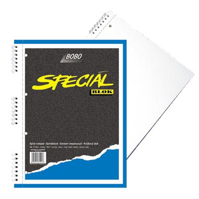 Blok Bobo A4 speciál čistý, perforace, děrování 15013 doprodej