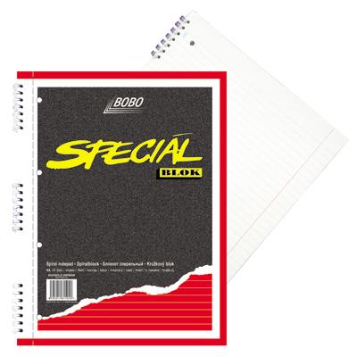 Blok Bobo A4 speciál linka, perforace, děrování 15020
