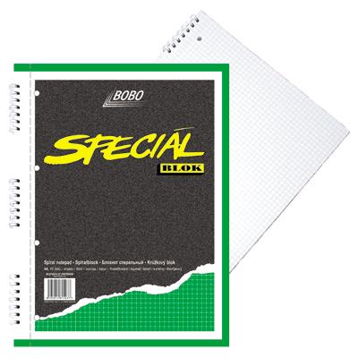 Blok Bobo A4 speciál čtvereček, perforace, děrování 15037