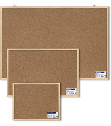 Korková tabule 60 x 90 cm dřevěný rám