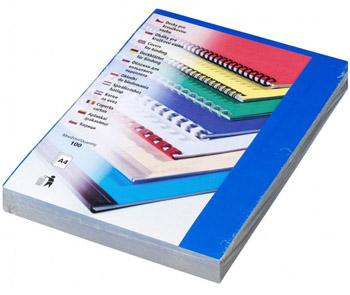Karton Chromolux A4 100 ks modrá, lesklá