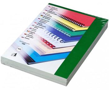 Karton Chromolux A4 100 ks zelená, lesklá