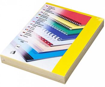 Karton Chromolux A4 100 ks žlutá, lesklá
