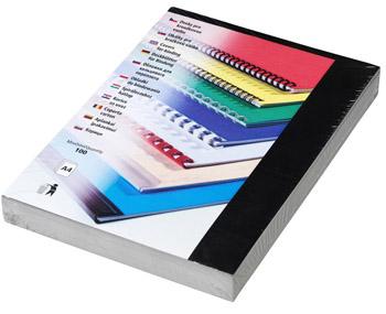 Karton Chromolux A4 100 ks černá, lesklá