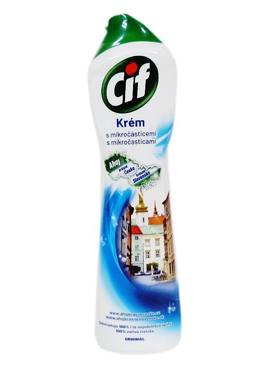 CIF tekutý písek 500 ml bílý