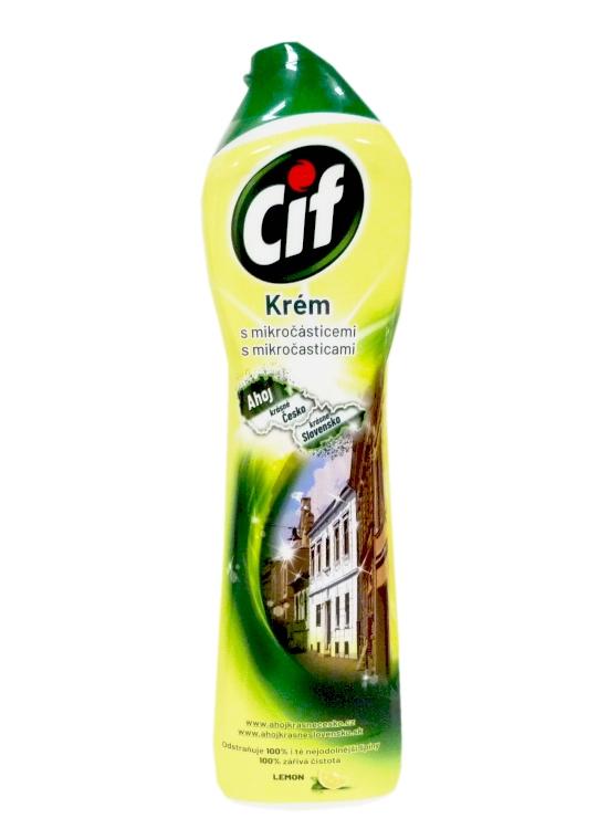 CIF tekutý písek 500 ml žlutý