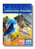 Laminovací fólie Premium 65x95/150mic. 100 ks antistatická lesklá