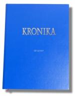 Kronika A4 100 listů - modrá