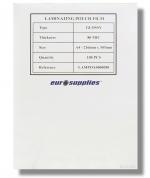 Eurosupplies A4 80mic. laminovací fólie - lampoa4000080, 100 ks