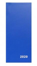 Diář 2020 měsíční plánovací VM1-1 PVC modrá