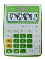 Kalkulačka DELI 1122 - zelená