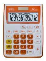 Kalkulačka DELI 1122 - oranžová