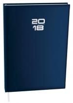 Diář 2018 denní A4 Goliáš balacron BDG7 1 - modrá