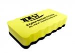 Magnetická houba na tabule IDEST žlutá