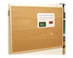 Korková tabule NOTUM K 90x120cm dřevěný rám, 5ks