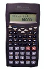 Kalkulačka DELI 1709 matematická dvouřádková