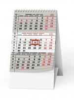 Kalendář 2019 stolní tříměsíční mini BSA7