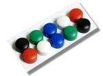 Magnety EMS 10mm/ 10ks, mix barev