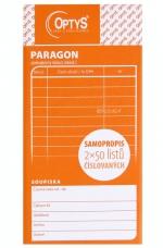 Paragon obchodní 2 x 50 listů OP 1089