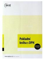 Pokladní kniha A4 samopropis OP 1014, 51 listů