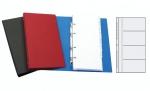 Vizitkář Karis 4-řadý A5 standard s ABC - modrý