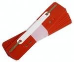 Úchytka HS, balení 25 ks - červená