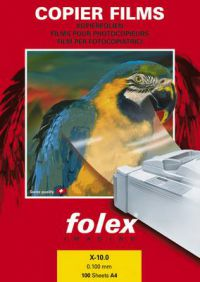 X-10.0 Folex čirá fólie A4,č/b kopír