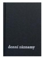 Diář denní záznamy A5, Těšín - prešpán černá