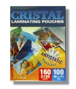 Laminovací fólie Premium 80x111/80mic. 100 ks antistatická lesklá