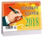 Kalendář 2018 stolní mikro Poznámkový - K 319