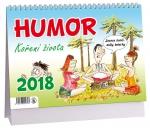 Kalendář 2018 stolní Humor - Koření života - čtrnáctidenní - K 297