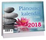Kalendář 2018 stolní Plánovací s citáty - K 318