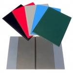 Desky - složka A4 boční kapsy PVC - zelená