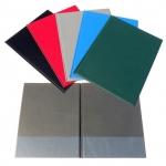 Desky - složka A4 spodní kapsy PVC - šedá