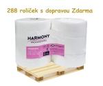 Toaletní papír JUMBO 265 bílá celulóza, paleta