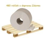 Toaletní papír JUMBO 240 recykl, paleta