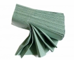 Ručník skládaný Z-Z Towel zelený jednovrstvý