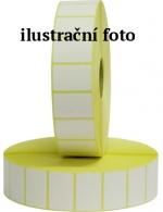 Etikety termo 40 x 46 mm, bílé na kotouči 1000 ks