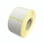 Etikety termo 49 x 40 mm, bílé na kotouči 1000 ks