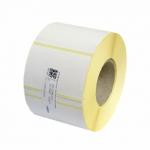 Etikety termo 60 x 60 mm, bílé na kotouči 700 ks