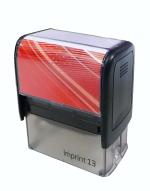 Trodat - Imprint 13, kompletní razítko, černý strojek New