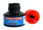 Náhradní inkoust Edding FTK 25 - červený, na flipchart