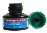 Náhradní inkoust Edding FTK 25 - zelený, na flipchart