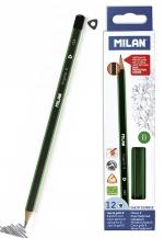 Tužka Milan trojhranná č. 1 (B)