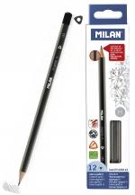 Tužka Milan trojhranná č. 3 (H)