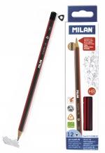 Tužka Milan trojhranná č. 2 (HB)