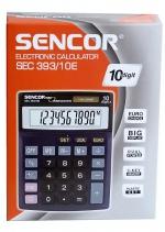 Kalkulačka Sencor 393/10E - přepočet EURO